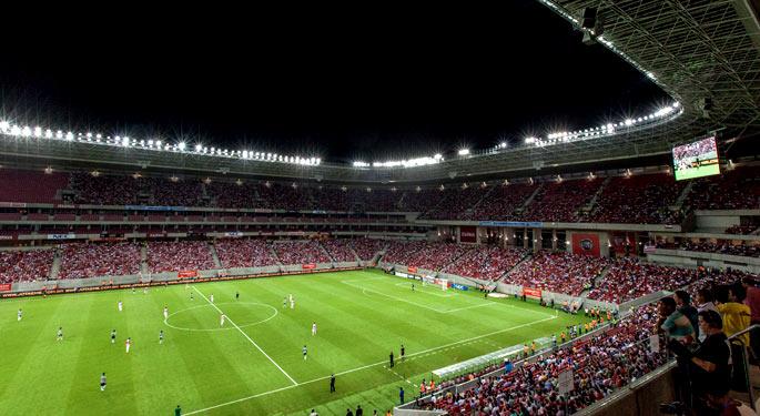 Novas arenas elevam média de público do Brasileirão em 29%